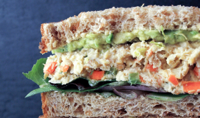 Chickpea Almond Sandwich
